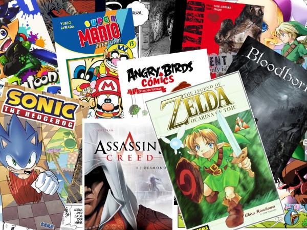 Literatura con temática de Videojuego Vol.3  - Comics Basados en Videojuegos