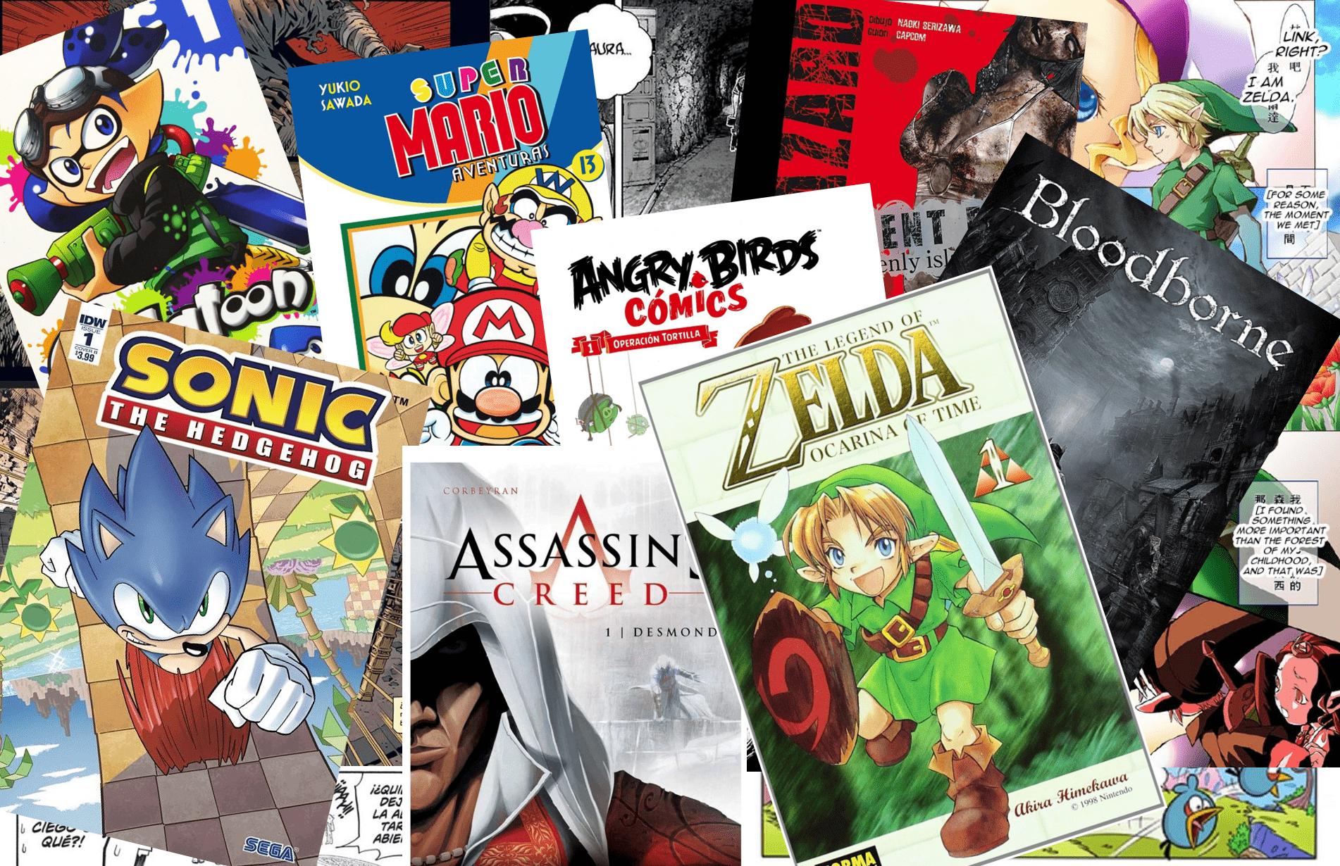 Comics Videojuegos