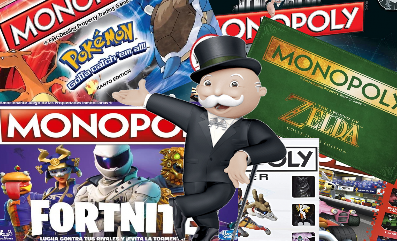 Portada Monopoly Gamer