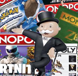Monopoly Basados en Videojuegos