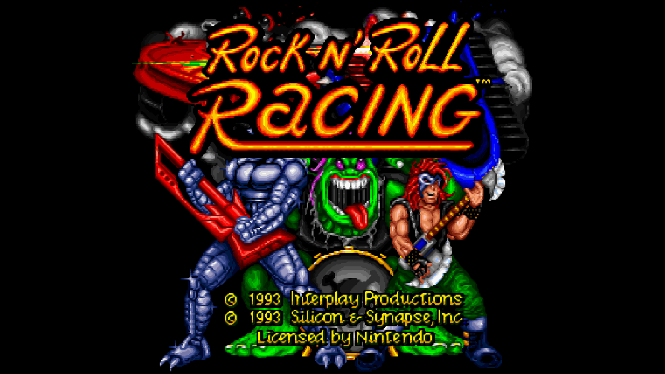 I Love Rock And Games - Rock N' Roll Racing, Leyendas del rock en 16 Bits