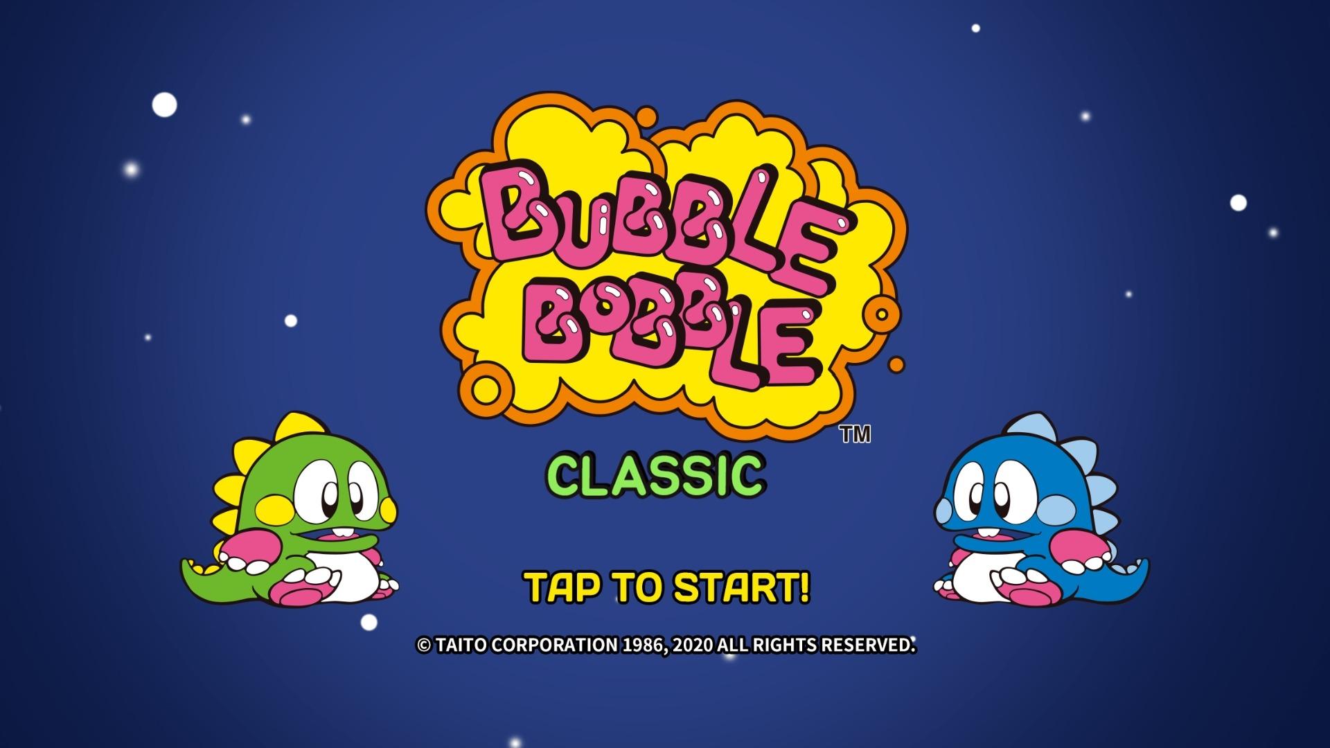 Bubble Bobble Classic, la adaptación Móvil de un mito