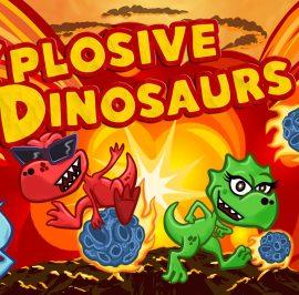 Explosive Dinosaurs: Que no pare la Fiesta.