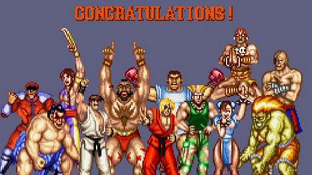 Personajes de Street Fighter II
